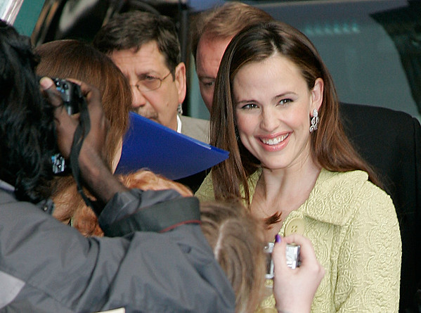 15 May 2006 - New York, NY -  Jennifer Garner arrives to tape 'Late Show with David Letterman' at the Ed Sullivan Theatre.  Photo Credit Jackson Lee