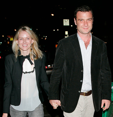 16 May 2006 - New York, NY -  Naomi Watts and Liev Schreiber out in about in Tribeca.  Photo Credit Jackson Lee