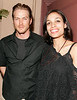 18 May 2006 - New York, NY - Rosario Dawson and Jason Lewis at Rosario's birthday celebration at Plumm.  Photo Credit Jackson Lee SEMI-EXCLUSIVE