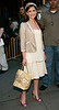 30 May 2006 - New York, NY - Sarah Michelle Gellar walks out of her production trailer for the film 'The Girl's Guide To Hunting and Fishing'.  Photo Credit Jackson Lee