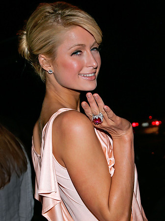 14 June 2006 - New York, NY - Paris Hilton walks out of her hotel in NYC.  Photo Credit Jackson Lee
