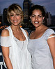15 June 2006 - New York, NY - Jennifer Esposito and Sarita Chowdhry at Armani Exchange and Nylon Magazine Summer in Style celebration.  Photo Credit Jackson Lee