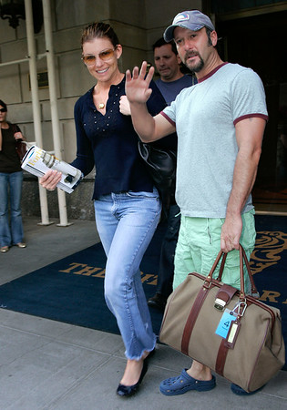 21 June 2006 - New York, NY - Faith Hill and Tim McGraw depart from their hotel in Midtown Manhattan.  Photo Credit Jackson Lee/Admedia