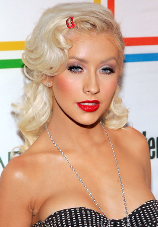 22 June 2006 - New York, NY - Christina Aguilera at Entertainment Weekly's 'Must List' Party at Buddha Bar.  Photo Credit Jackson Lee