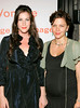 28 June 2006 - New York, NY - Liv Tyler and Maggie Gyllenhaal at the Vonage 'V Phone' Launch Party at Aer.  Photo Credit Jackson Lee