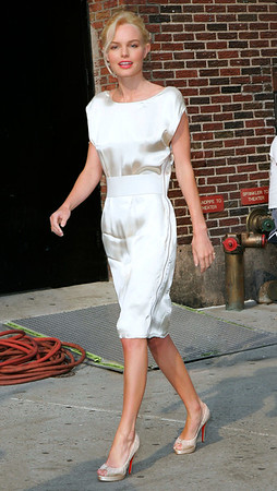 29 June 2006 - New York, NY - Kate Bosworth departs 'The Late Show with David Letterman' outside the Ed Sullivan Theatre.  Photo Credit Jackson Lee