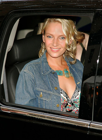 12 July 2006 - New York, NY - Uma Thurman at the premiere of 'My Super Ex-Girlfriend' at Chelsea West Theatre.  Photo Credit Jackson Lee