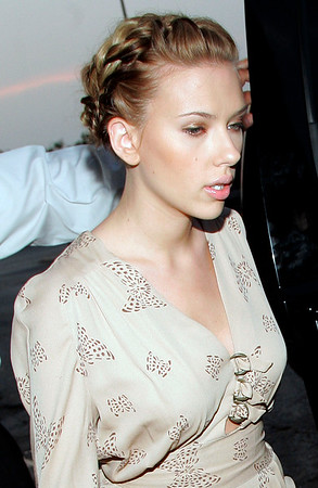 25 July 2006 - New York, NY - Scarlett Johansson out and about in lower Manhattan.  Photo Credit Jackson Lee
