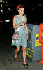 *** EXCLUSIVE ***<br /> 1 Aug 2006 - New York, NY - Natalie Portman out and about on the streets of Chelsea, NYC.  Portman apparently could not avoid being bitten by mosquitos coming back from a ski trip in Patagonia.  Photo Credit Jackson Lee