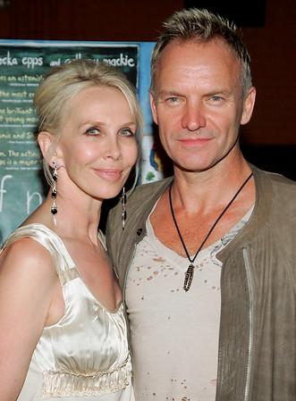 2 Aug 2006 - New York, NY - Trudie Styler and Sting at the NY Premiere of 'Half Nelson'.  Photo Credit Jackson Lee