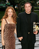 3 Aug 2006 - New York, NY - Kelly Preston and John Travolta at Tony Bennett's 80th birthday party at the Rose Center, Museum of Natural History.  Photo Credit Jackson Lee