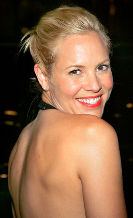 3 Aug 2006 - New York, NY - Maria Bello arrives at the afterparty for the NY Premiere of 'World Trade Center' at the Lever House Restaurant.  Photo Credit Jackson Lee