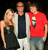 6 Aug 2006 - New York, NY - Jack Nicholson (center), Lorraine Nicholson, Raymond Nicholson depart Da Silvano restaurant in NYC.  Photo Credit Jackson Lee