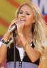 11 Aug 2006 - New York, NY - Carrie Underwood performs live on ABC's 'Good Morning America' Show at Bryant Park, NYC.  Photo Credit Jackson Lee