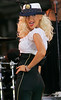18 Aug 2006 - New York, NY - Christina Aguilera performs live on ABC's Good Morning America show at Bryant Park.   Photo Credit Jackson Lee