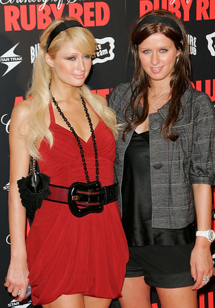 30 Aug 2006 - New York, NY - Paris Hilton and Nicky Hilton at Pharrell Williams and Absolut Ruby Red Host Pre VMA Party.  Photo Credit Jackson Lee