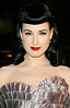11 Sept 2006 - New York, NY - Dita Von Teese at Marc Jacobs Fashion Show and Afterparty.  Photo Credit Jackson Lee/Admedia