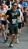 5 Nov 2006 - New York, NY - Lance Armstrong crosses the Queensboro Bridge at 2006 New York City Marathon.  Photo Credit Jackson Lee