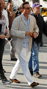 Andy Garcia arrives at the LA Lakers For Game 1 Of The NBA Finals