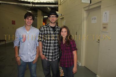 Justin Galloway, Justin Timberlake and Alana Galloway