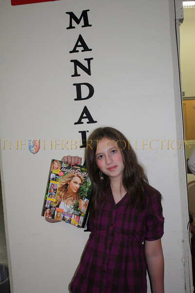 Alana Morgan Galloway with Taylor Swift autograph
