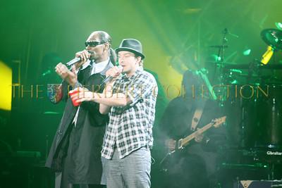 Snoop Dog and Justin Timberlake
