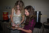 Taylor Swift autographs Alana Galloway's magazine