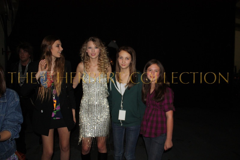 Taylor Swift and fans including Alana Galloway