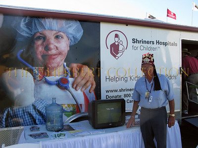 "Al ""Bear"" Robinson,P.P. Volunteer Traveling Display Coordinator at the PGA Tournament"