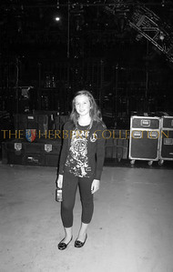 Alana Galloway (my daughter) backstage of Justin Timberlake and Friends concert