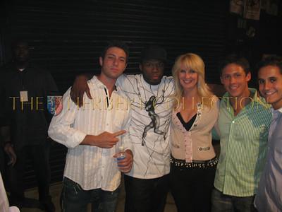 Ryan Klarberg, 50 cent, Sara Herbert-Galloway, Evan Reshev, and Jason Krochak