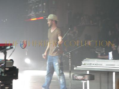 Justin Timberlake takes the stage