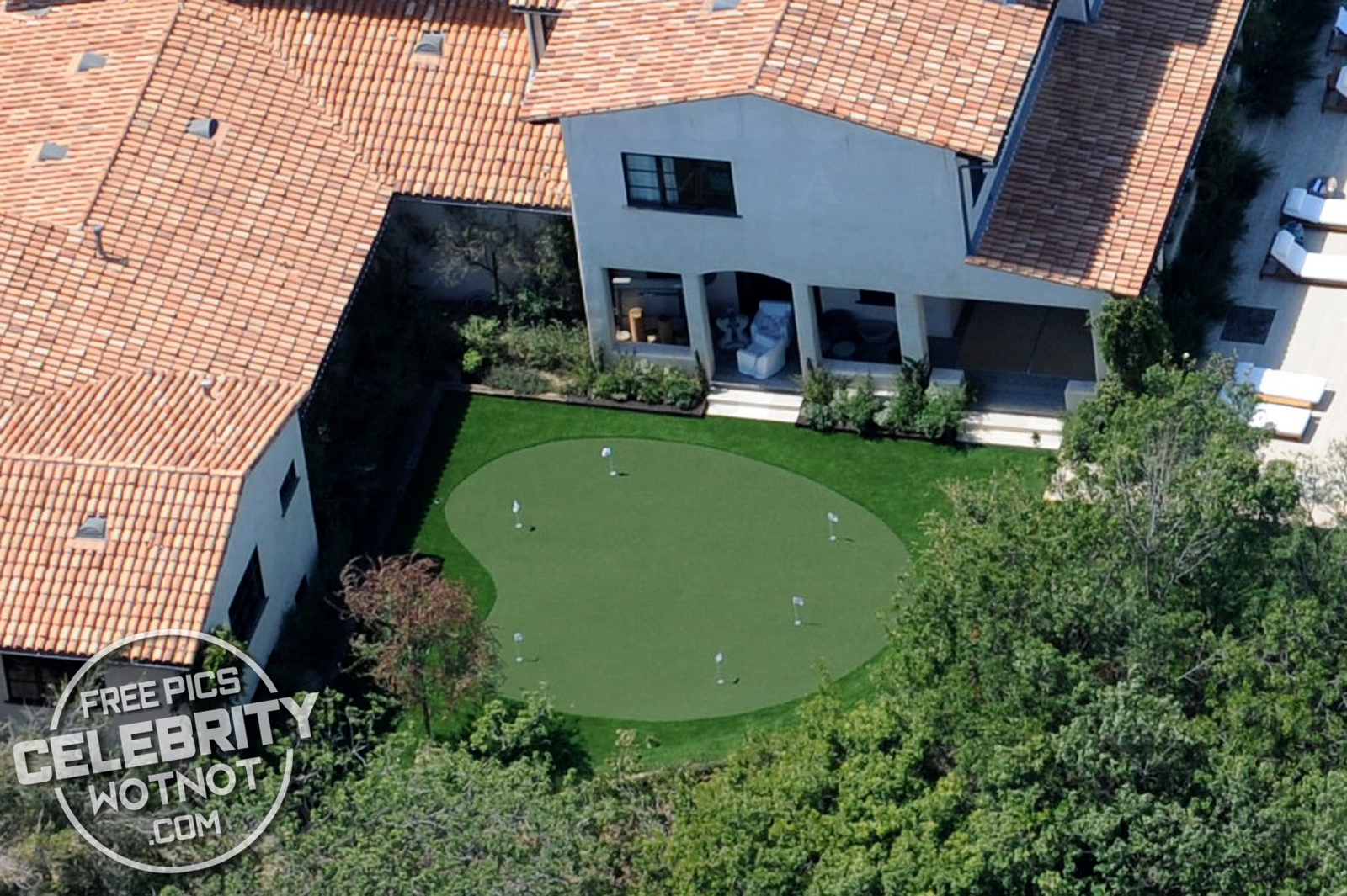 Justin Timberlake Has A Blue Basketball Court At His Hollywood Home Celebrity Wotnot