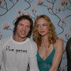 Charles Ferri & Heather Graham at the Star Room in the Hamptons