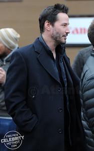 Keanu Reeves Dressed Very Smart in Park City, Utah
