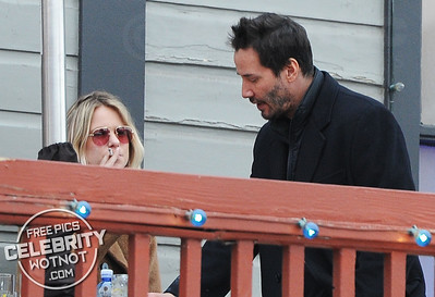 Keanu Reeves Dressed Very Smart in Park City, Utah