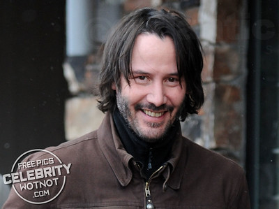 Keanu Reeves Flashes a Smile and Chats to Fans at the Sundance Film Festival in Utah