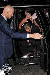 Lady Gaga In Ralph & Russo Dress With Then Boyfriend Christian Carino, Canada
