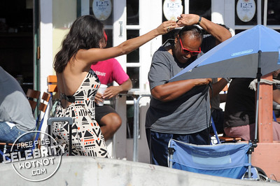 EXC: Rosario Dawson Has A Few German Beers Then Hit The Karaoke!