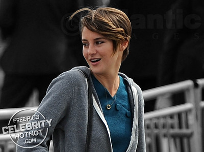 Shailene Woodley Sticks Out Tongue At Awards Ceremony, LA