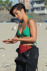 Surf's Up For The Saturdays In Bikinis Surfing in Venice Beach!