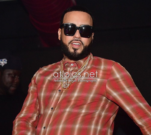 2.5.17 CELEBRITY SIGHTINGS: FRENCH MONTANA @ONO NIGHTCLUB Houston TX