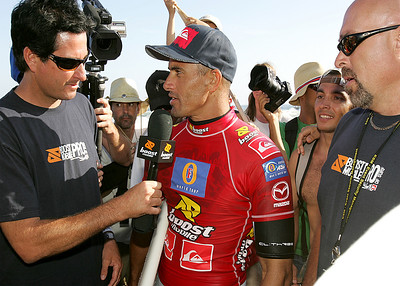 Kelly Slater after Boost Mobile Pro 2006