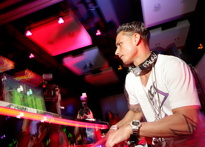 Dj Pauly D at Wintervention.  Hard Rock Hotel