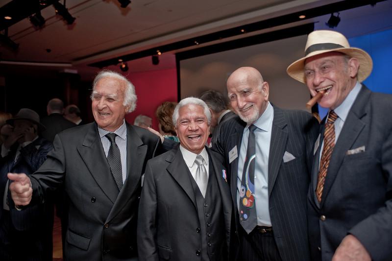 Robert Loggia, Nasser Kasiminy, Dom Chianese, Bert Sugar