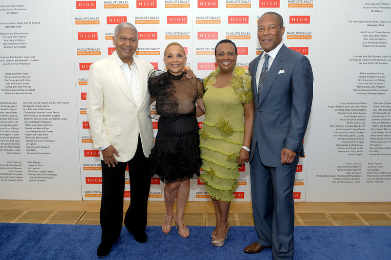 (L-R) Event co-chairs Arthur Richardson, Jay Richardson, Vicki Palmer and John Palmer