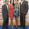 Artist Radcliffe Bailey and his wife actress Victoria Rowell pose with actress Nicole Ari Parker and her husband Boris Kodjoe