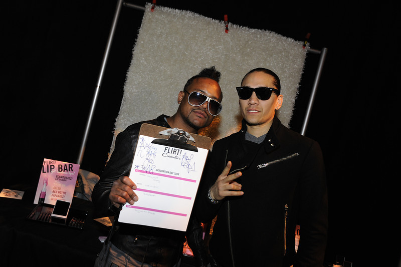 LAS VEGAS, NV - MAY 22:  Apl.de.ap (L) and Taboo of The Black Eyed Peas attend the Backstage Creations Celebrity Retreat at the 2011 Billboard Music Awards at MGM Grand Garden Arena on May 22, 2011 in Las Vegas, Nevada.  (Photo by David Becker/WireImage)