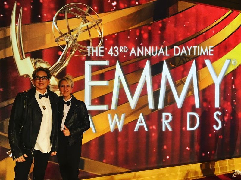 EMMYS - Kate Mesta Official Emmys Limited Edition Dog Tag - Bonaventure Hotel Los Angeles - 2016 - Hair by British Hair Company
