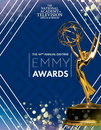 """EMMYS - Kate Mesta Official Emmys Limited Edition Dog Tag -  Red Carpet - Backstage - """"THE TALK""""   Talk Show CBS - Pasadena Civic Auditorium - 2017 - Hair by British Hair Company - Photography by Faye Sadou"""